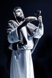 Het bidden van Jesus-Christus Stock Afbeeldingen