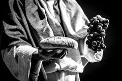 Het bidden van Jesus-Christus Royalty-vrije Stock Foto's