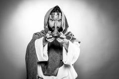 Het bidden van Jesus-Christus Stock Afbeelding