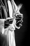 Het bidden van Jesus-Christus Stock Foto