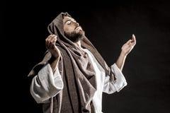 Het bidden van Jesus-Christus Stock Foto's