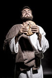 Het bidden van Jesus-Christus Royalty-vrije Stock Foto