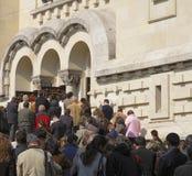 Het bidden van mensen Royalty-vrije Stock Afbeelding