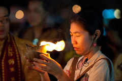 Het bidden van Worshipper Royalty-vrije Stock Afbeeldingen