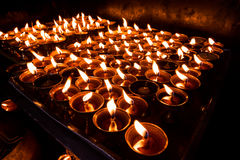 Het bidden voor Vrede Stock Afbeelding