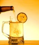 Het Bier van de zomer Stock Foto's