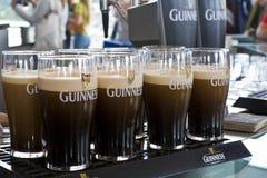 Het bier van Guiness stock afbeelding