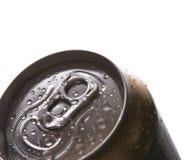 Het bier van het aluminium stock foto