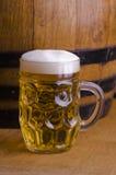 Het bier van het glas Royalty-vrije Stock Foto