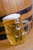 Het bier van het glas Stock Foto