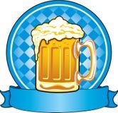 Het bier van Oktoberfest Stock Afbeeldingen