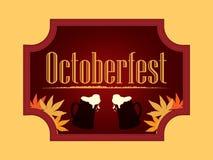 Het bierfestival van de Octoberfestvakantie Stock Foto