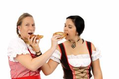 Het bierfestival van München Royalty-vrije Stock Foto