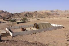 Het bijbelse Model van het Tabernakel in Israël Royalty-vrije Stock Fotografie