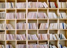 Het bijhouden van Verslagen op Houten Planken royalty-vrije stock afbeeldingen