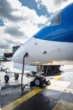 Het bijtanken van het vliegtuig Royalty-vrije Stock Foto