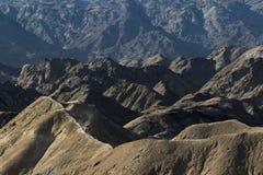 Het biking van de berg Stock Fotografie