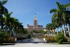 Het Biltmore Hotel in de Geveltoppen van het Koraal, Miami, Florida Stock Afbeeldingen
