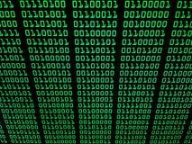 Het binaire concept van de gegevensstroom, aantallen, informatie - abs Royalty-vrije Stock Foto's