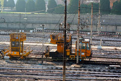 Het binaire getal van de spoorweg Royalty-vrije Stock Foto's