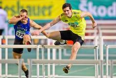 Het binnen Kampioenschap 2011 van het Spoor en van het Gebied Stock Foto's