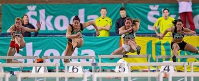 Het binnen Kampioenschap 2011 van het Spoor en van het Gebied Stock Afbeeldingen