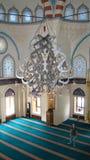 Het binnen moskee plaatsen Royalty-vrije Stock Foto's