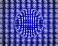 Het binnendringen in een beveiligd computersysteem Stock Foto's