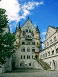 Het binnengebied sommer 2017 van het Neuschwansteinkasteel royalty-vrije stock afbeelding