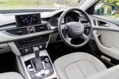 Het Binnenland van Audi A5 35 TFSI 2016 Stock Afbeelding
