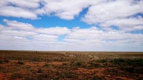 Het binnenland van Australië stock afbeelding