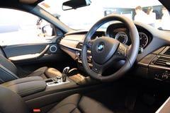 Het binnenland van BMW X6 M royalty-vrije stock foto's