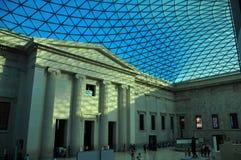 Het binnenland van British Museum Royalty-vrije Stock Fotografie