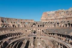 Het Binnenland van Colosseum Royalty-vrije Stock Foto's