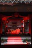 Het binnenland van de aarden structuren van Fujian stock afbeelding