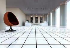 Het Binnenland van de architectuur vector illustratie