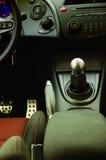 Het binnenland van de auto Stock Foto