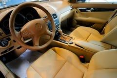 Het binnenland van de auto Royalty-vrije Stock Afbeeldingen