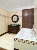Het binnenland van de badkamers Royalty-vrije Stock Afbeeldingen