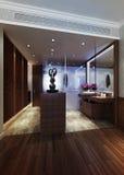 Het binnenland van de badkamers Stock Afbeeldingen