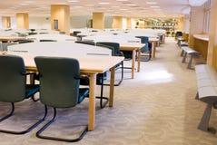 Het Binnenland van de bibliotheek stock fotografie