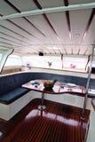 Het binnenland van de boot Stock Afbeelding