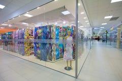 Het binnenland van de boutique stock foto's