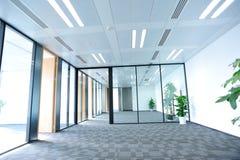 Het binnenland van de bureauruimte Stock Fotografie