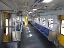 Het binnenland van de bus Stock Fotografie
