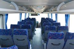Het binnenland van de bus Stock Foto