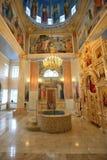Het binnenland van de Christelijke kerk Royalty-vrije Stock Foto's