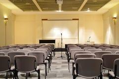 Het binnenland van de conferentieruimte Stock Foto
