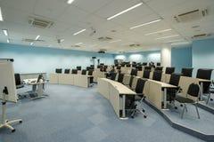 Het binnenland van de conferentiezaal bij Skolkovo-Campus Royalty-vrije Stock Afbeelding