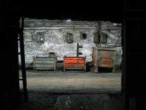 Het binnenland van de fabriek royalty-vrije stock afbeelding